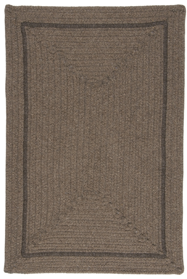 EN-34 Latte Shear Natural Rug by Colonial Mills