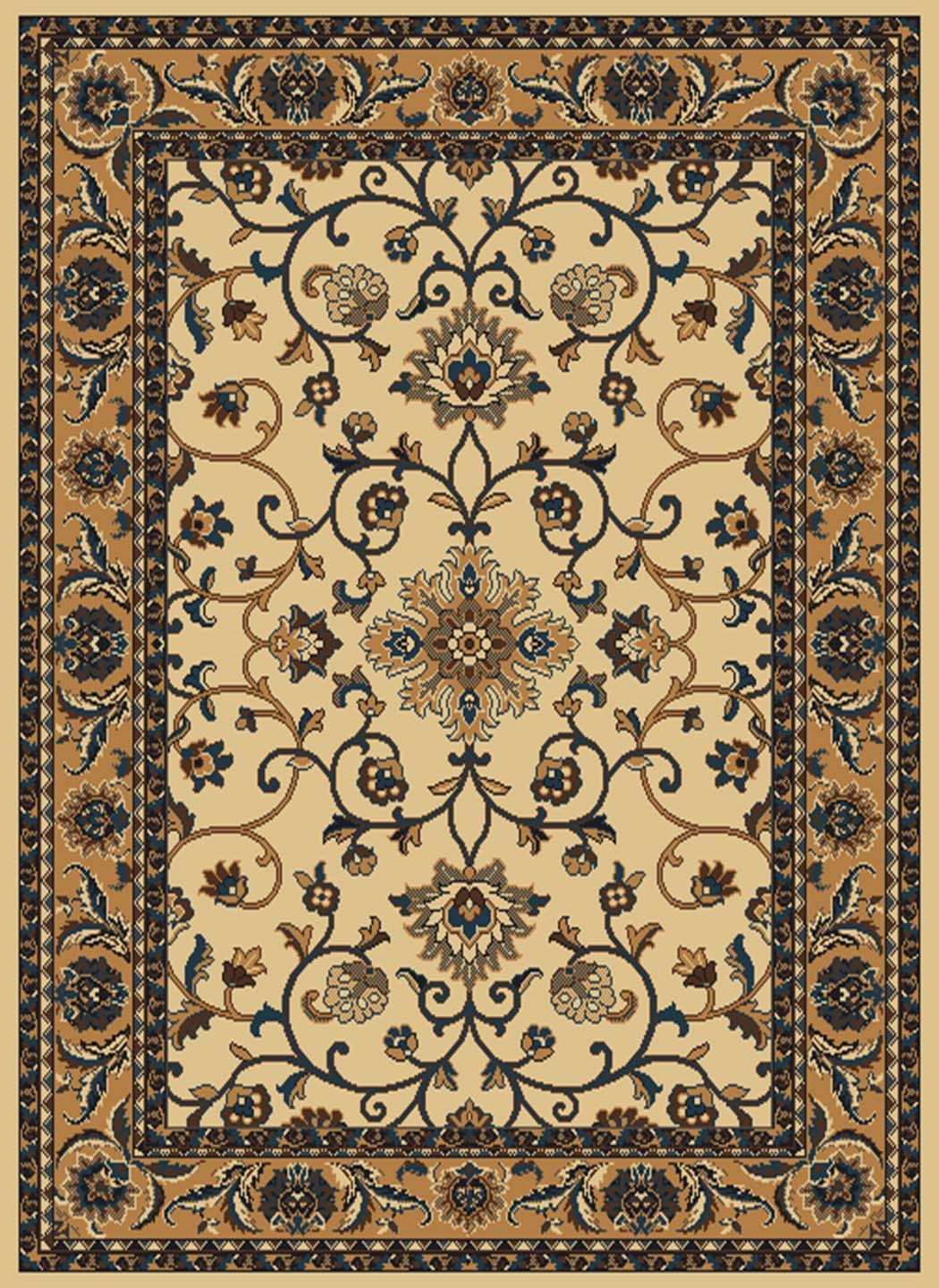 Columbia Light Blue 040 37560 Manhattan Rug by United Weavers