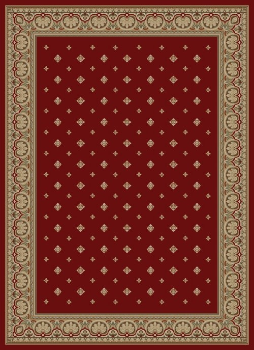 Concord Ankara 6300 Pin Dot Red Area Rug