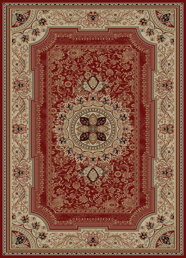 Concord Ankara 6520 Chateau Red Area Rug