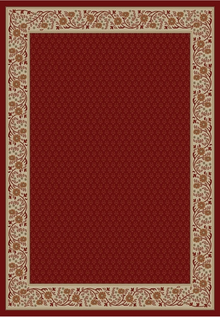 Concord Jewel 4020 Harmony Red Area Rug