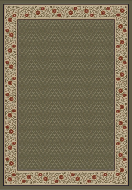 Concord Jewel 4025 Harmony Green Area Rug