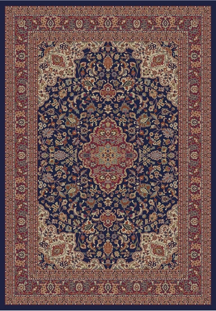 Concord Jewel 4104 Heriz Navy Area Rug