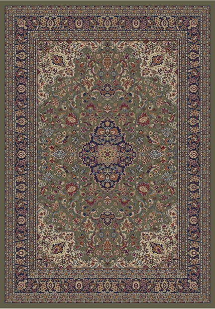 Concord Jewel 4105 Heriz Green Area Rug