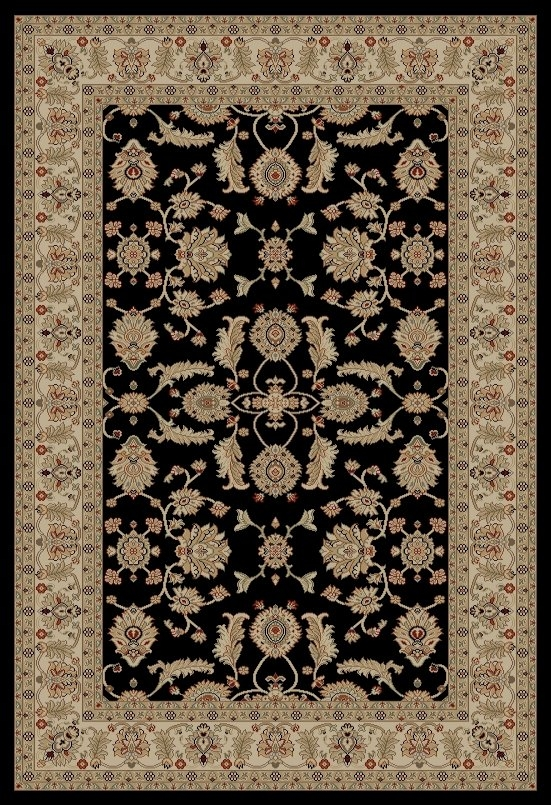 Concord Jewel 4443 Antep Black Area Rug
