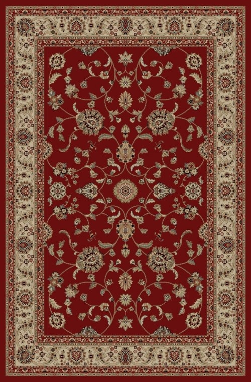 Concord Jewel 4930 Marash Red Area Rug