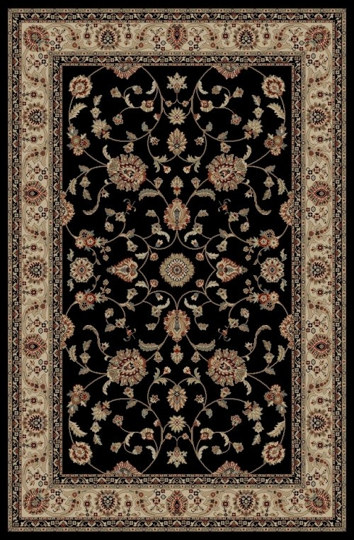 Concord Jewel 4933 Marash Black Area Rug
