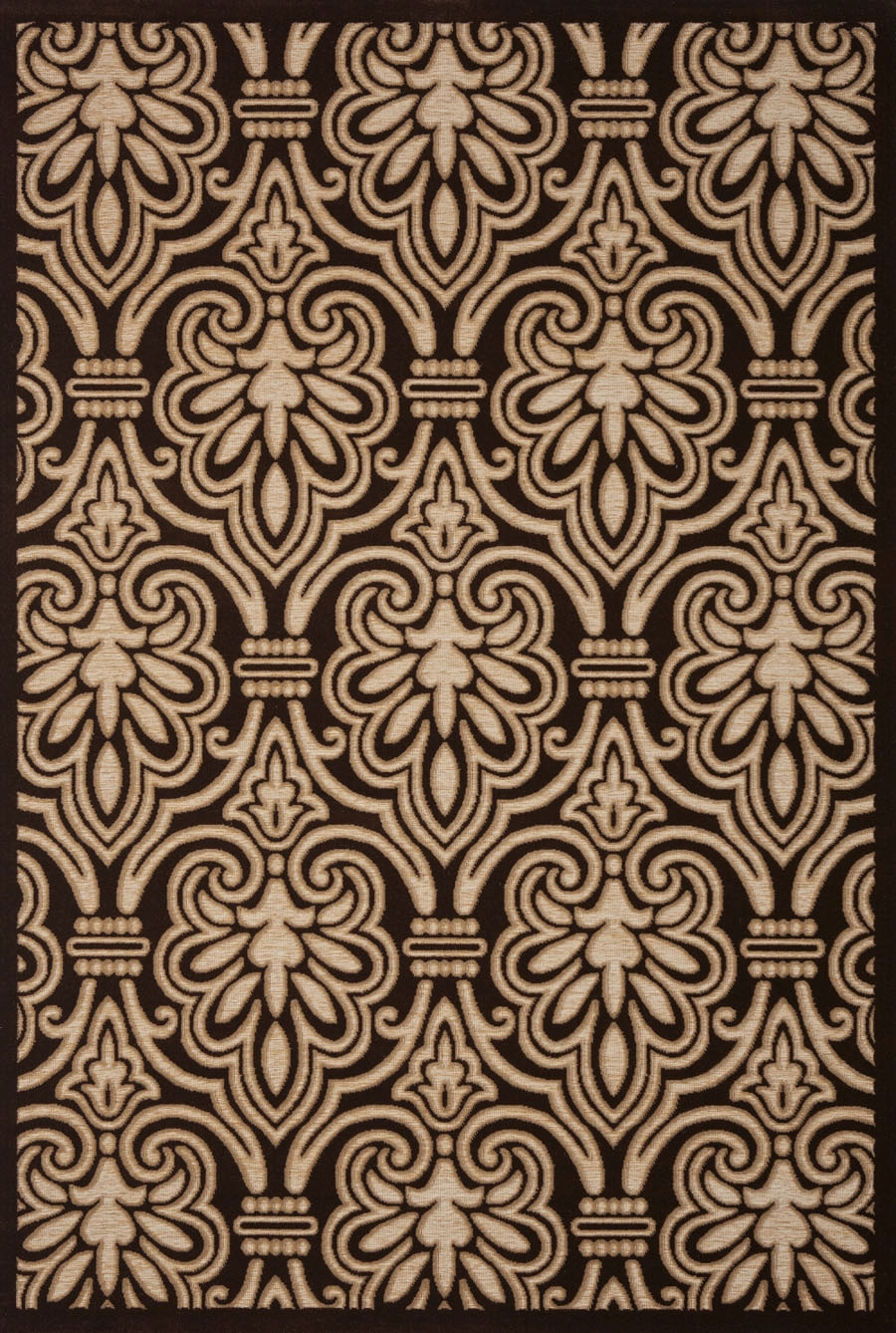 Concord Milano 5781 Damask Beige Area Rug