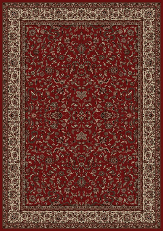 Concord Persian Classics 2020 Kashan Red Area Rug