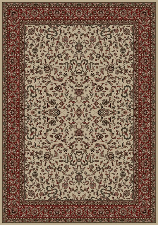 Concord Persian Classics 2022 Kashan Ivory Area Rug