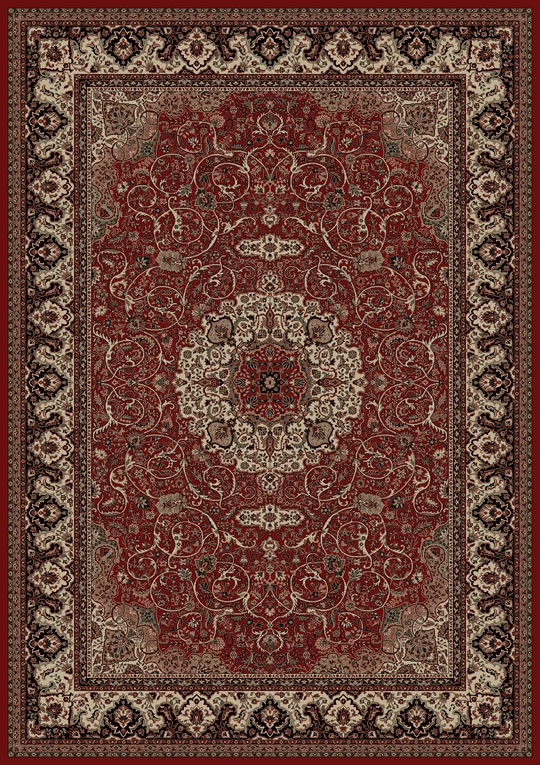 Concord Persian Classics 2030 Isfahan Red Area Rug