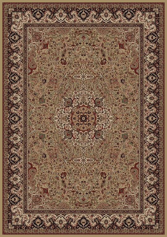 Concord Persian Classics 2031 Isfahan Gold Area Rug