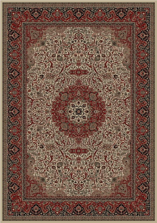 Concord Persian Classics 2032 Isfahan Ivory Area Rug