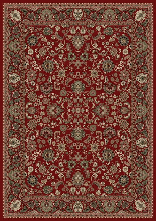 Concord Persian Classics 2100 Mahal Red Area Rug