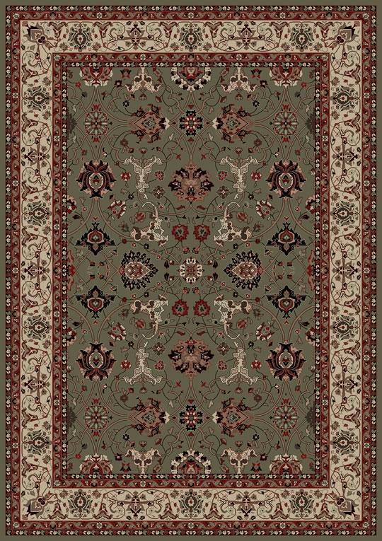 Concord Persian Classics 2115 Nargis Green Area Rug