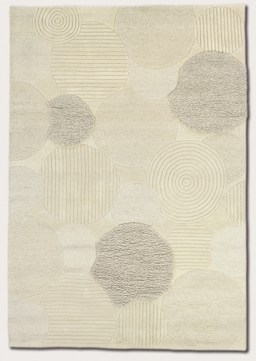 Austin White 2150/9500 Super Indo Natural Rug by Couristan