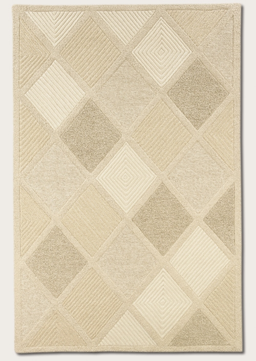 Astra White 2150/9600 Super Indo Natural Rug by Couristan