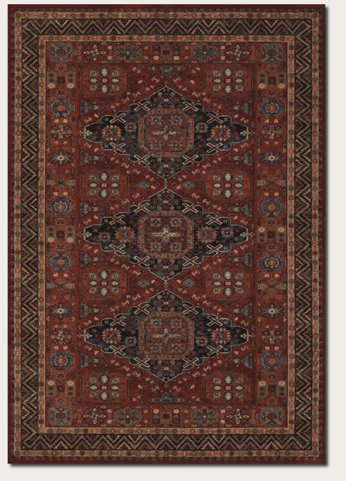 Kashkas Burgundy 4308/0300 Old World Classics Rug by Couristan