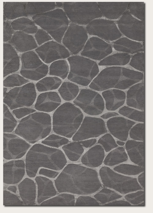 Flagstone Grey Silver 8091/2045 Impressions Rug by Couristan