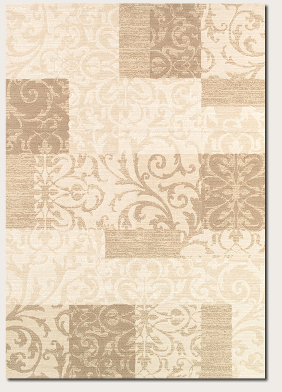 Couristan Marina Cyprus 8964 0110 Pearl Oyster Rug