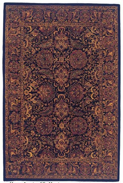 Jaipur Dream JD-02 Navy Rug 5 ft x 8 ft Cyber Special
