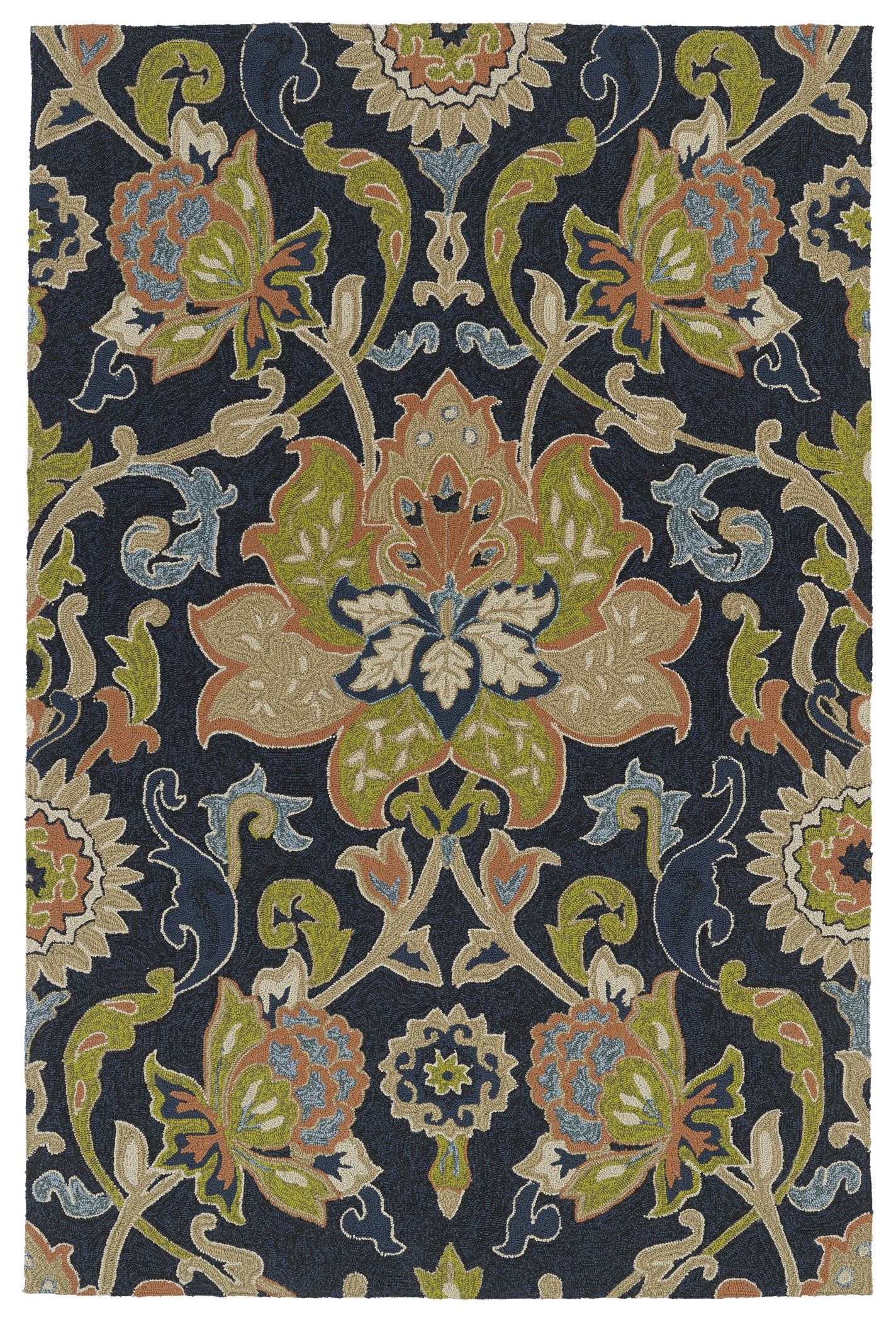 Kaleen Home And Porch 2042 22 Navy Rug