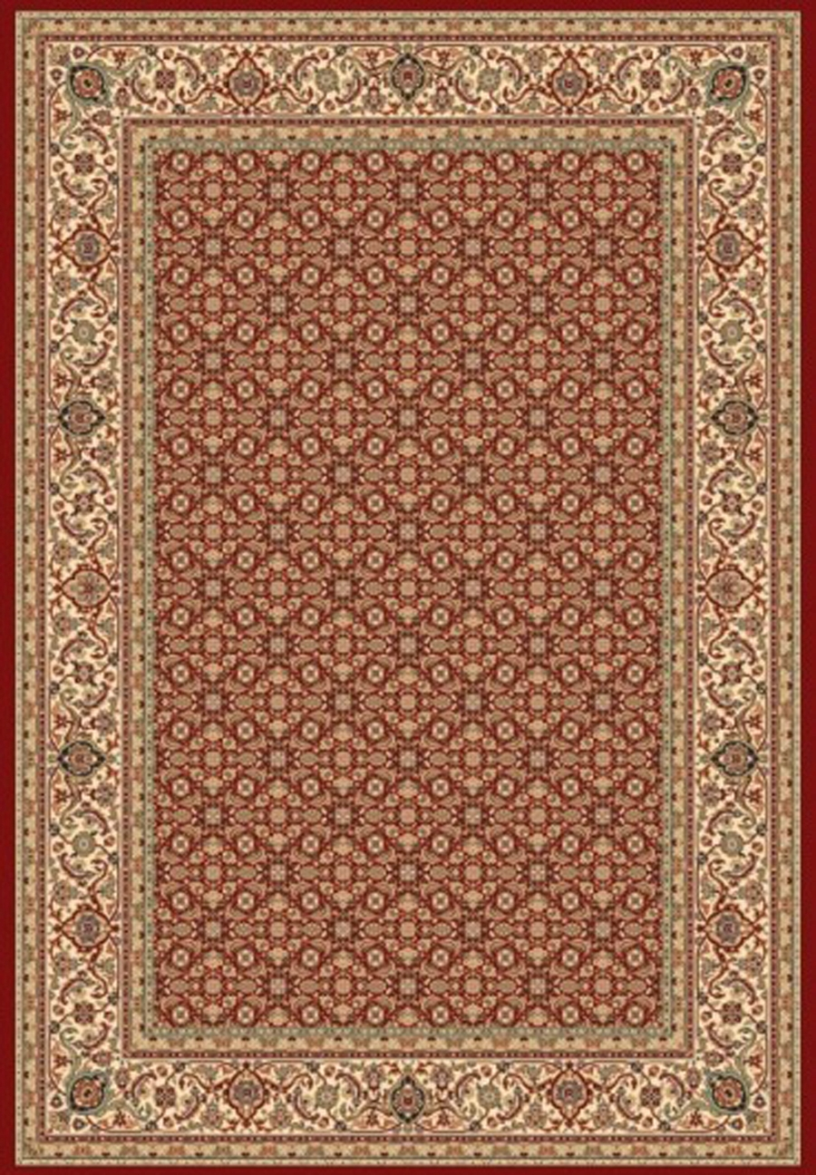 Dynamic Ancient Garden 57011 1414 Red Ivory Area Rug