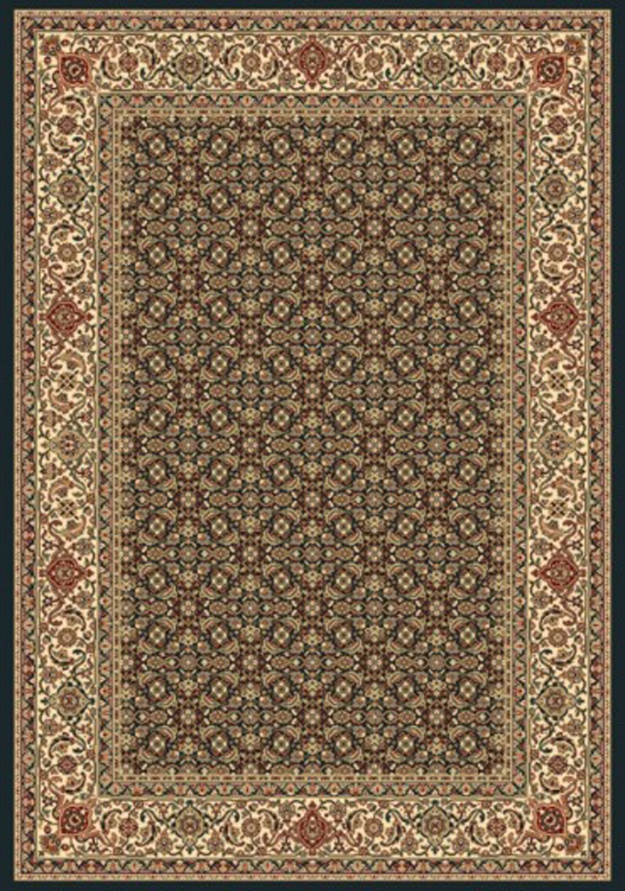Dynamic Ancient Garden 57011 3464 Navy Area Rug