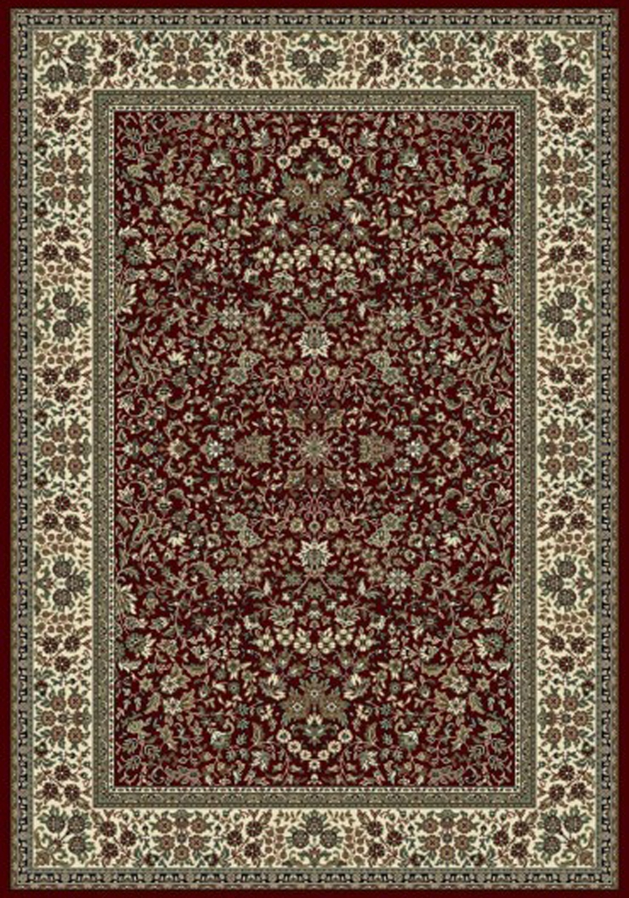 Dynamic Ancient Garden 57078 1414 Red Ivory Area Rug