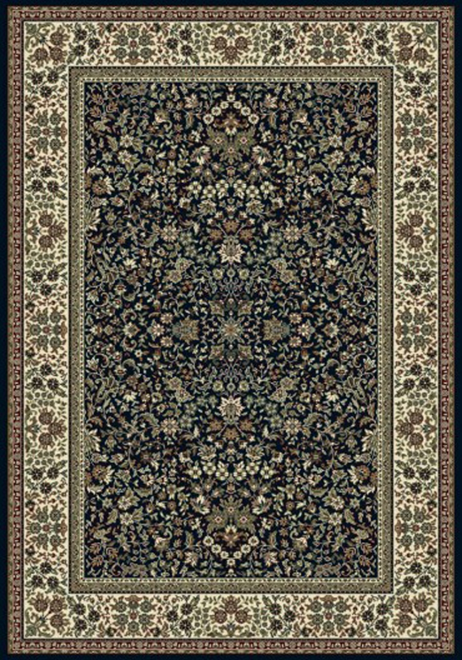 Dynamic Ancient Garden 57078 3434 Blue Ivory Area Rug