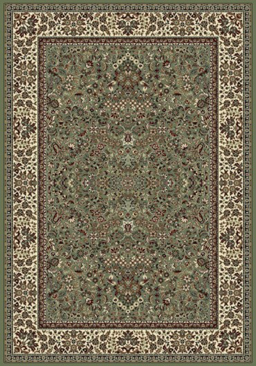 Dynamic Ancient Garden 57078 4444 Green Ivory Area Rug