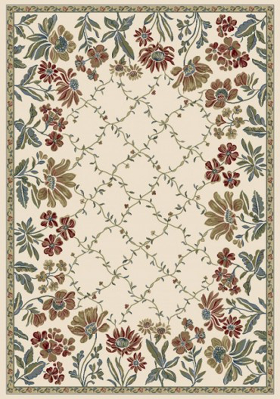 Dynamic Ancient Garden 57084 6464 Ivory Area Rug