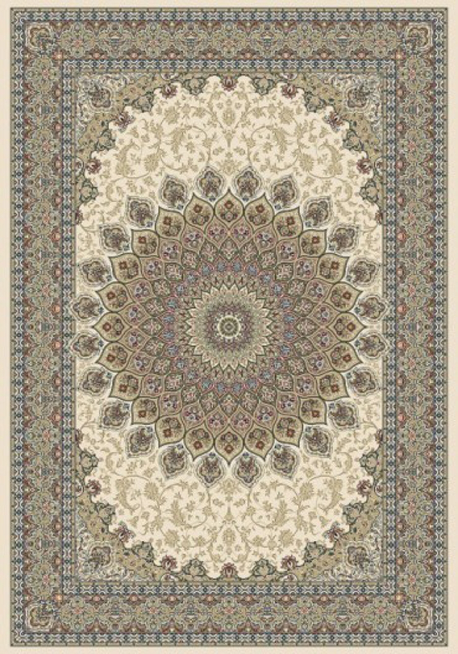 Dynamic Ancient Garden 57090 6484 Ivory Area Rug