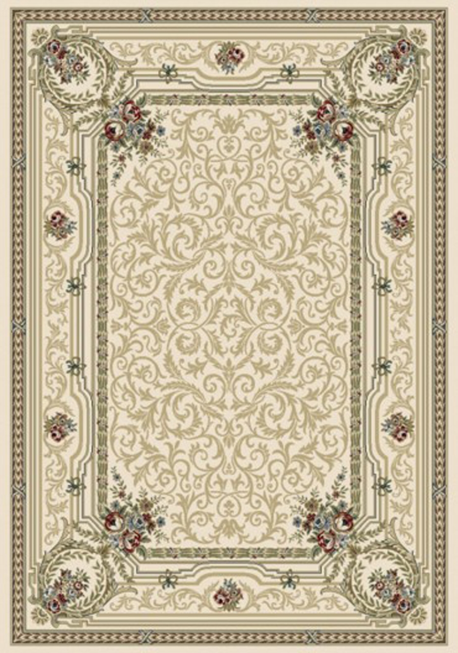 Dynamic Ancient Garden 57091 6464 Ivory Area Rug