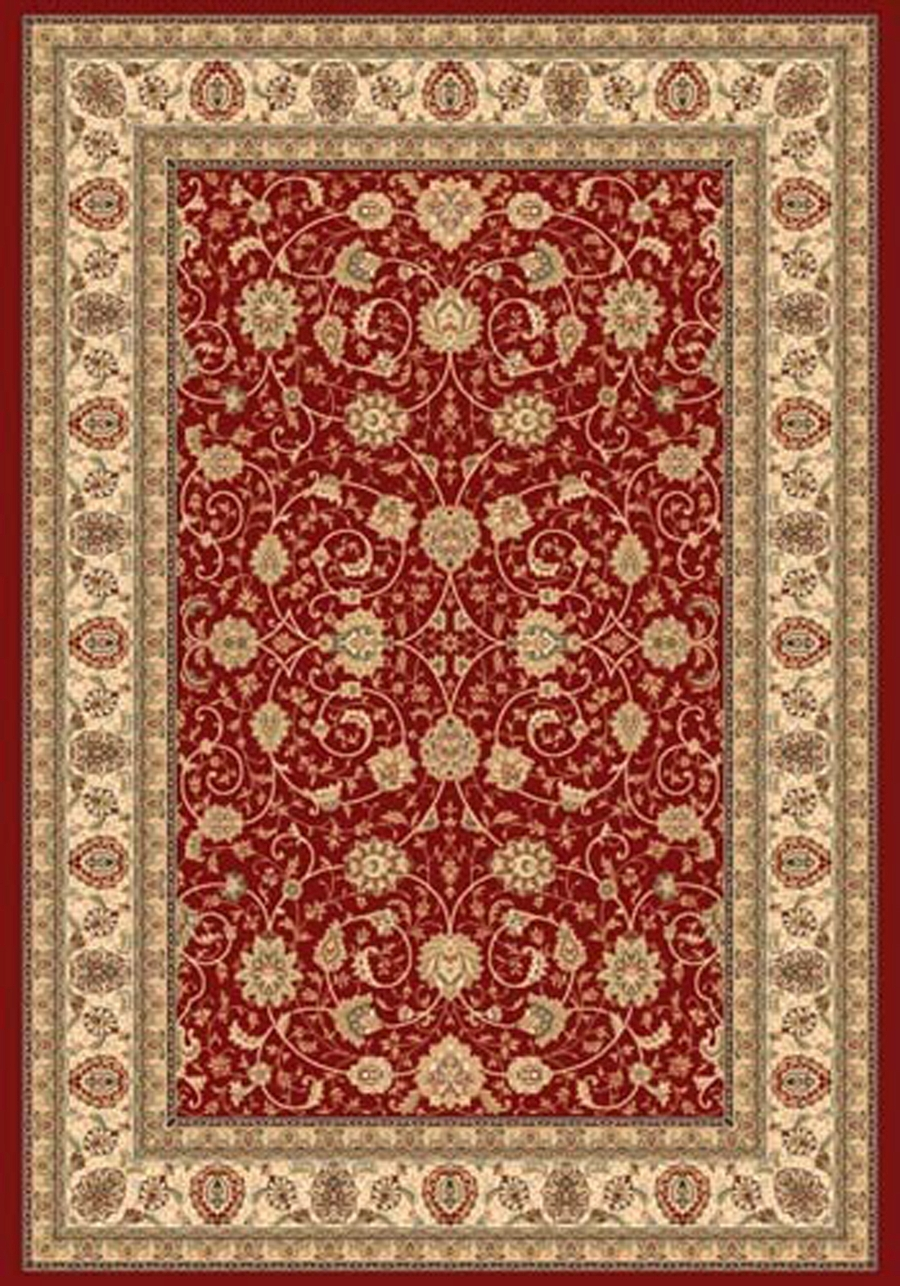 Dynamic Ancient Garden 57120 1464 Red Ivory Area Rug