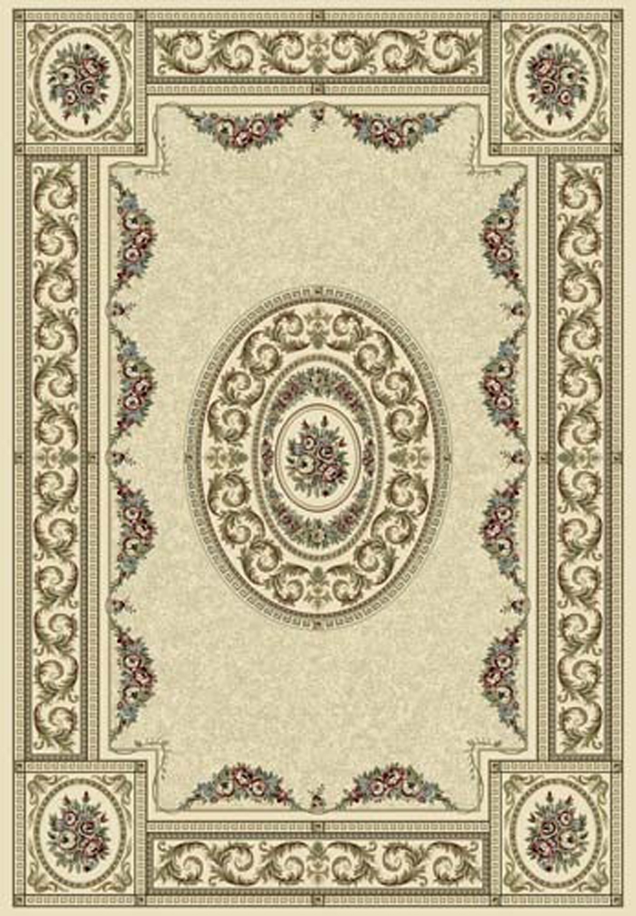 Dynamic Ancient Garden 57226 6464 Blue Ivory Area Rug