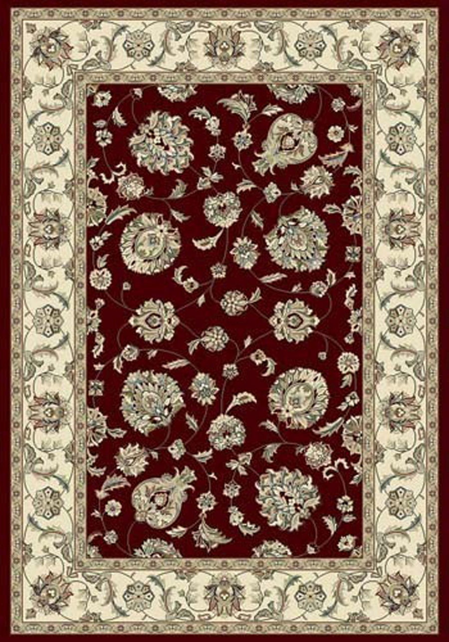 Dynamic Ancient Garden 57365 1464 Red Ivory Area Rug