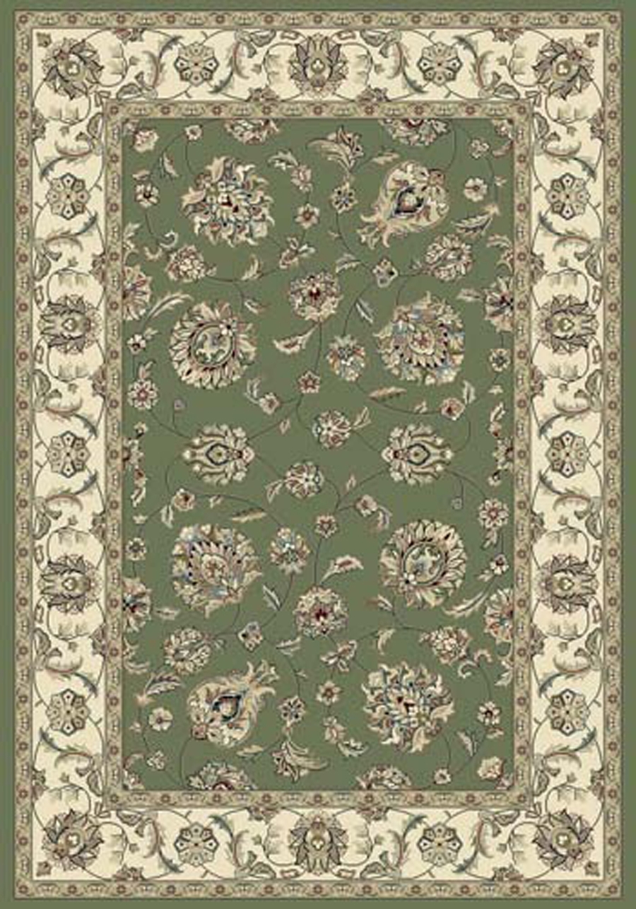 Dynamic Ancient Garden 57365 4464 Green Ivory Area Rug