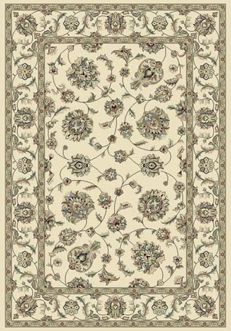 Dynamic Ancient Garden 57365 6464 Ivory Ivory Area Rug