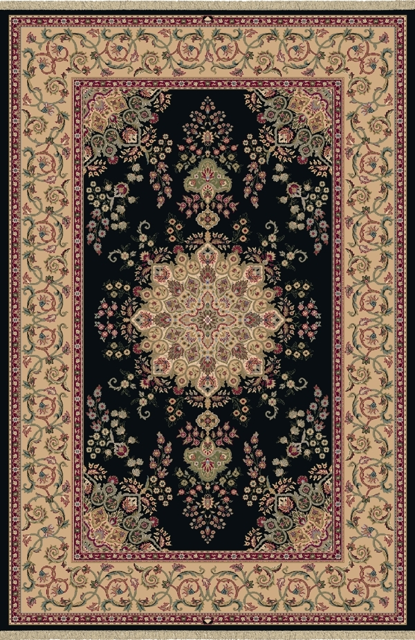 Black 7201 090 Brilliant Rug By Dynamic