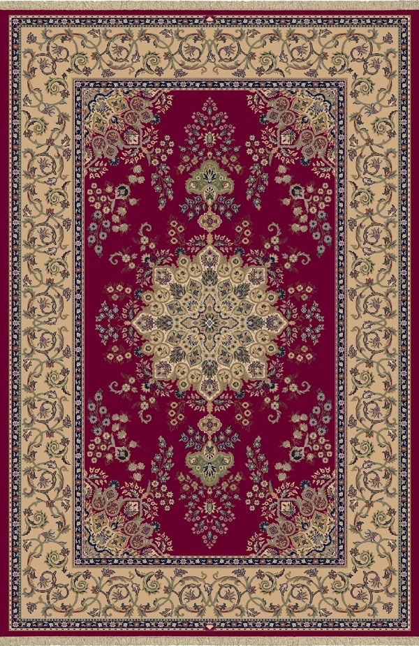 Red 7201 330 Brilliant Rug By Dynamic
