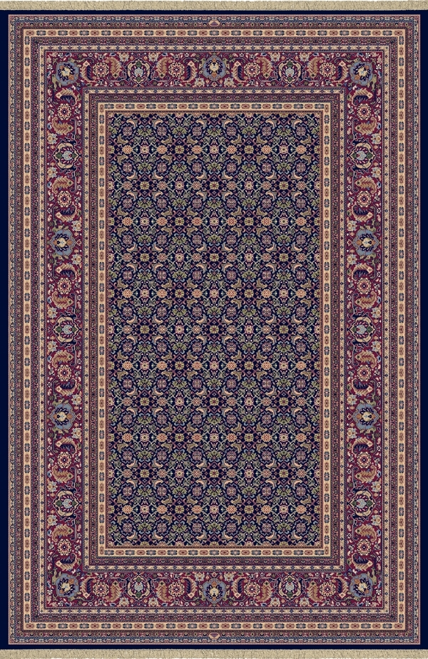 Navy 72240 520 Brilliant Rug By Dynamic