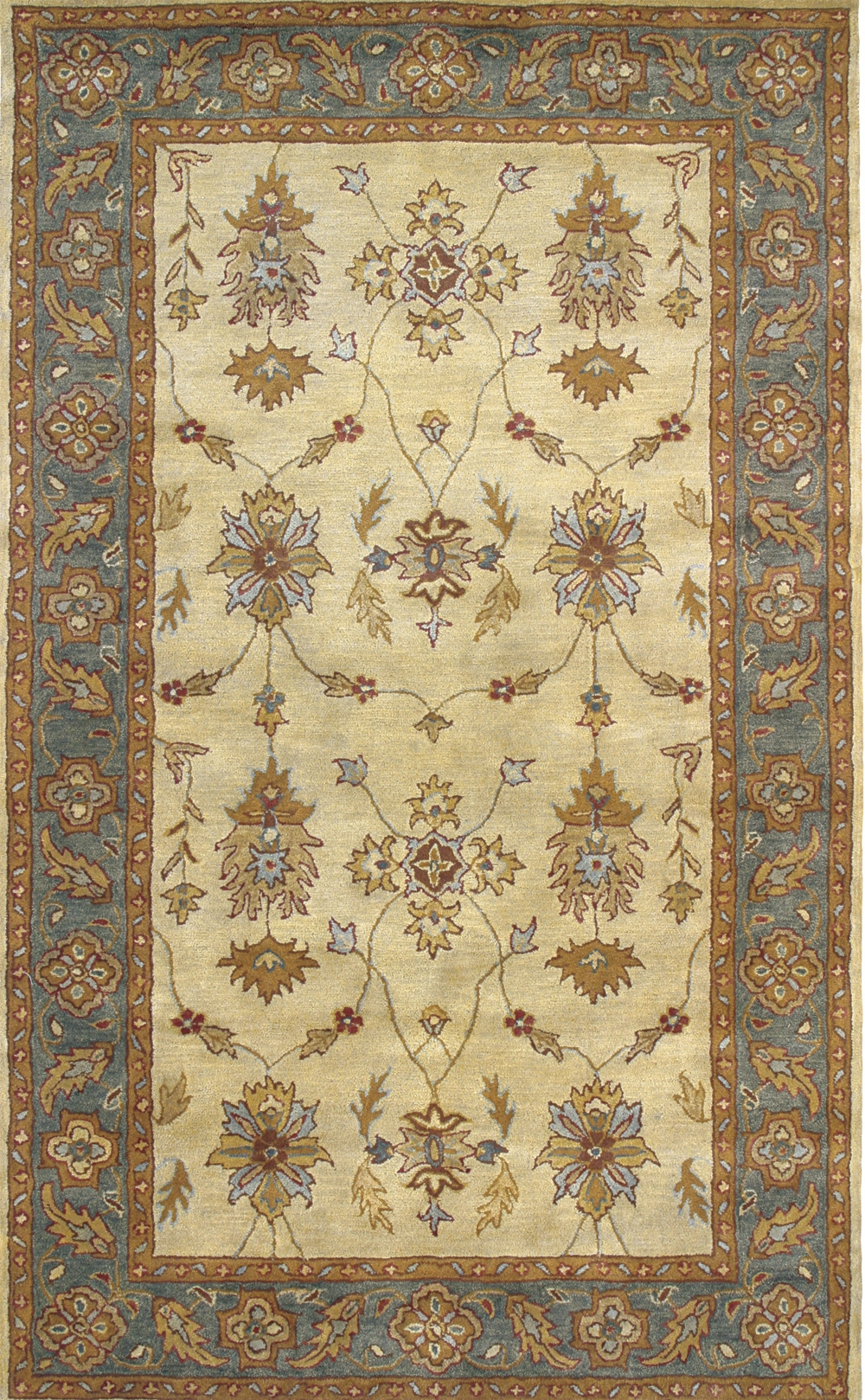 Ivory Blue 1403 100 Charisma Rug By Dynamic