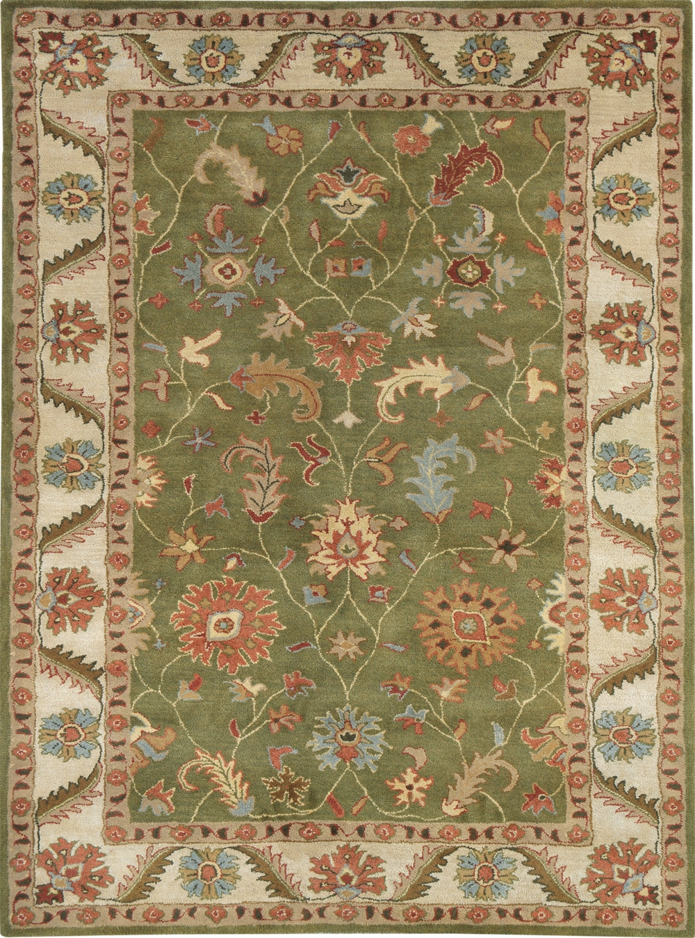 Green Ivory 1411 400 Charisma Rug By Dynamic