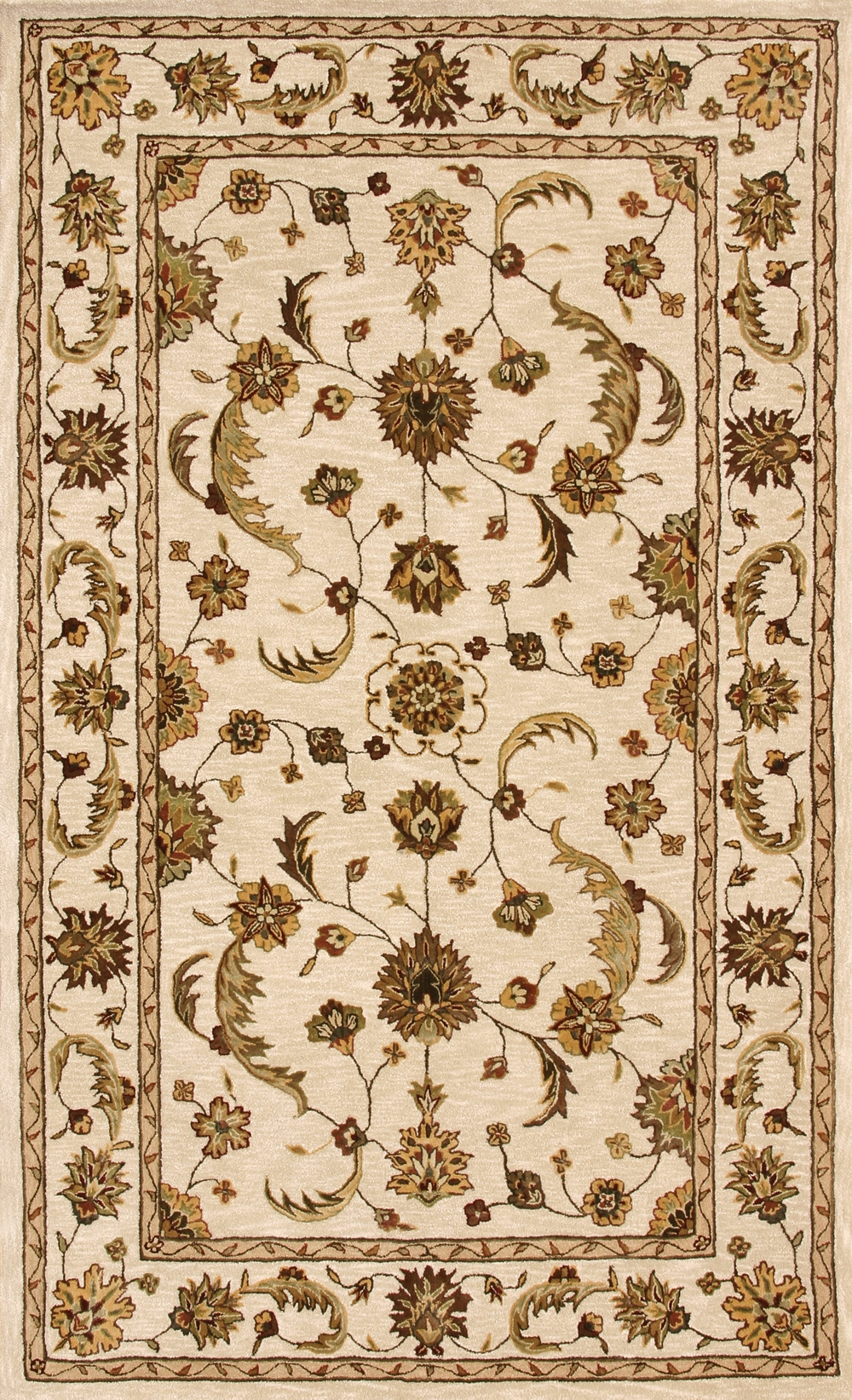 Beige 70113 100 Jewel Rug By Dynamic