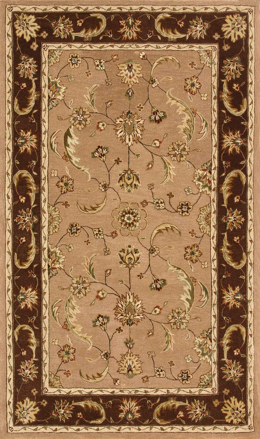 Sand Chocolate 70113 108 Jewel Rug By Dynamic