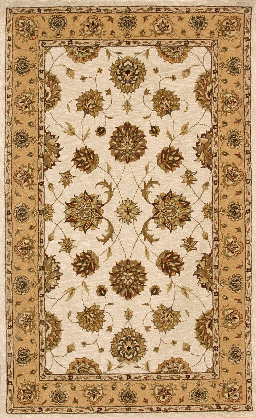 Ivory Gold 70230 107 Jewel Rug By Dynamic