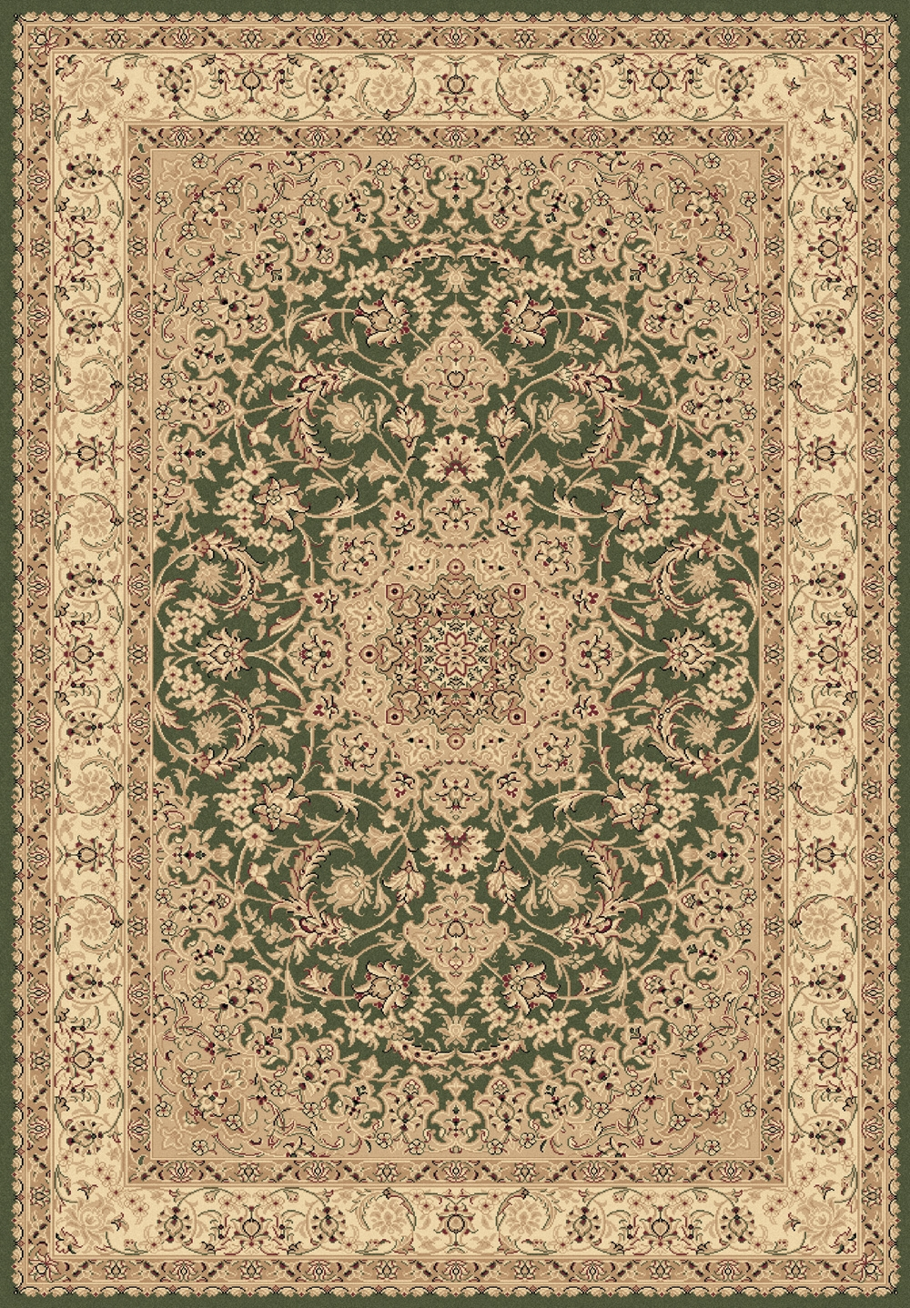 Green 58000 420 Legacy Rug By Dynamic