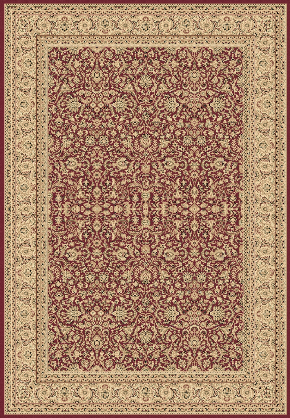 Red 58004 300 Legacy Rug By Dynamic