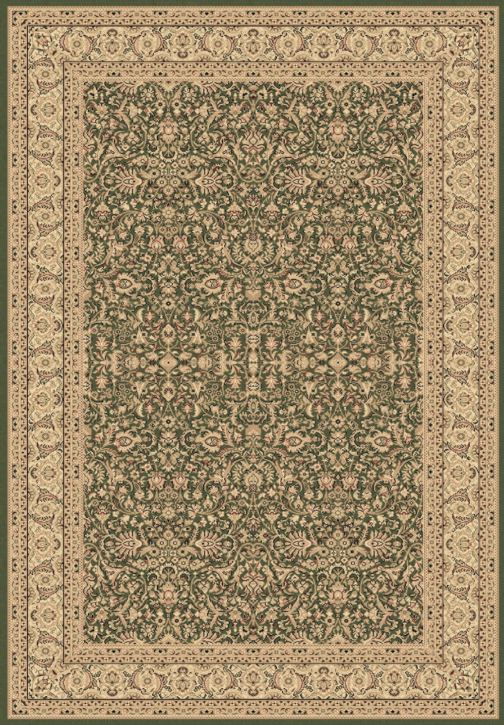 Green 58004 420 Legacy Rug By Dynamic